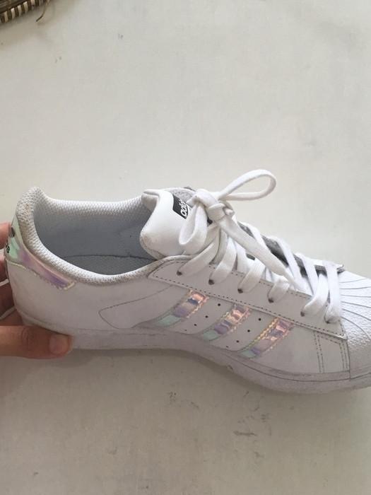 Adidas superstar holographique