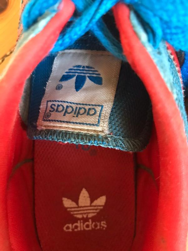 Baskets adidas dragon rouge et bleu - Vinted