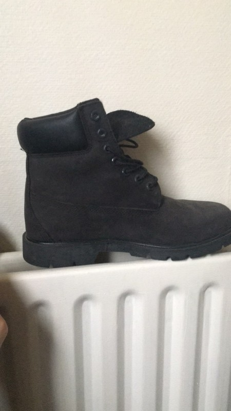 timberland noire 39