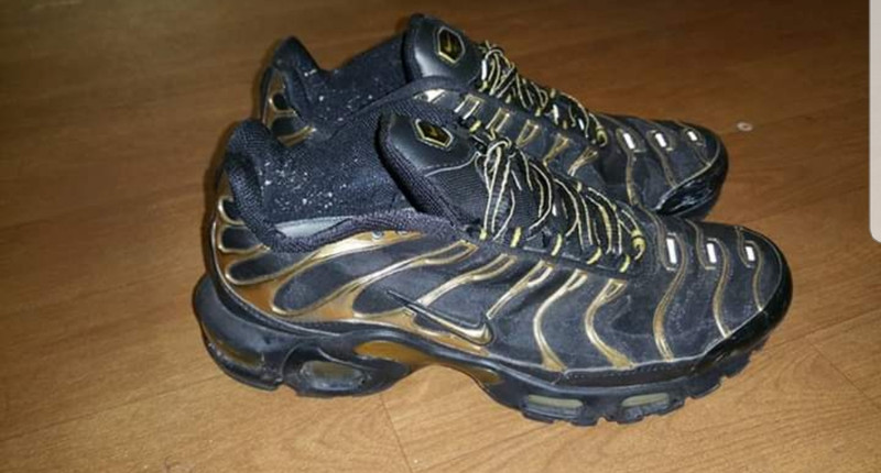 Nike TN noir et or