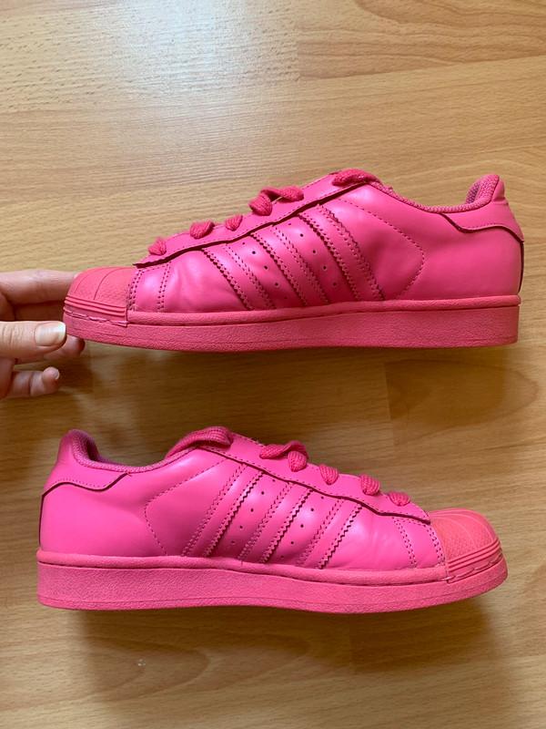 Basket Superstar Adidas rose