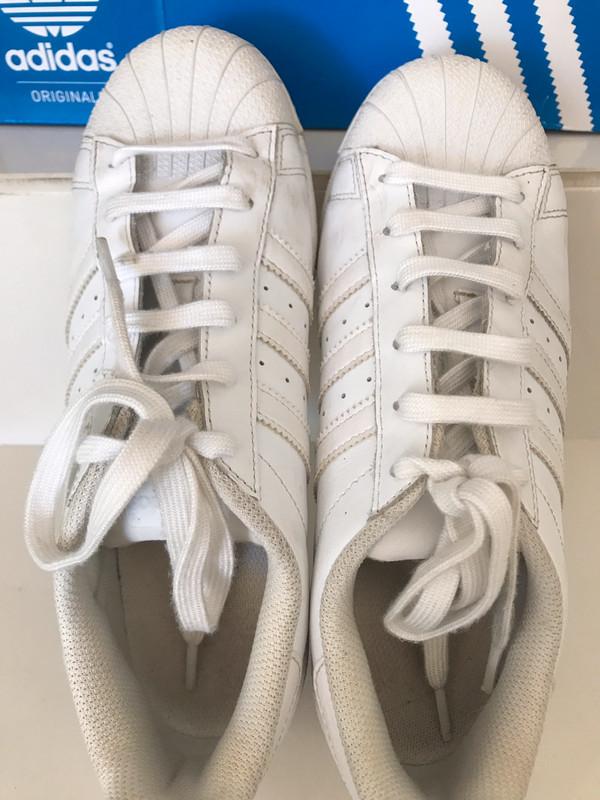 Basket adidas superstar blanches 38,5