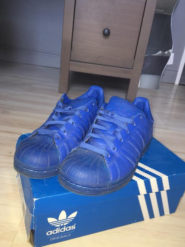 Superstar adidas bleue