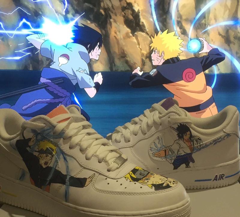 Nike AF1 x Naruto Custom