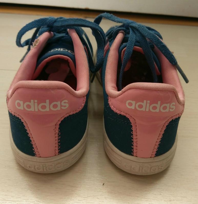 Basket Adidas neo bleu et rose - Vinted