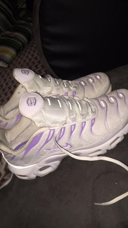 Tn air max Nike Blanche- Violet