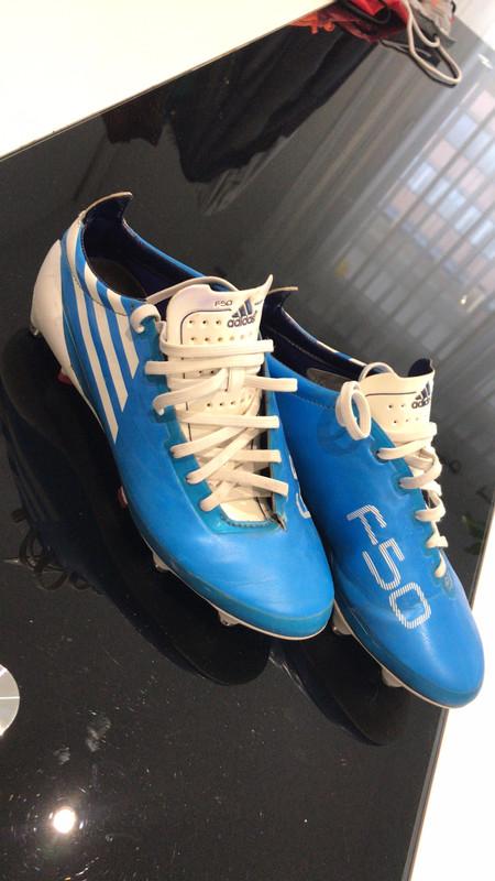 Adidas F50 adizero alu vissé bleu haut de gamme taille 40 2/3 - Vinted