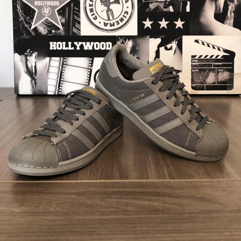 Adidas Superstar grise homme