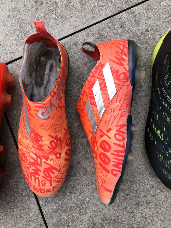 Lot de 4 Chaussures de foot adidas glitch