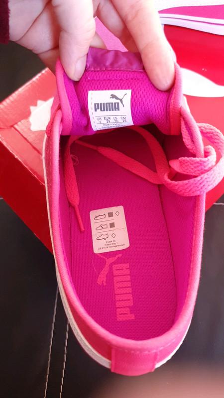 Puma rose fluo et mauve - Vinted