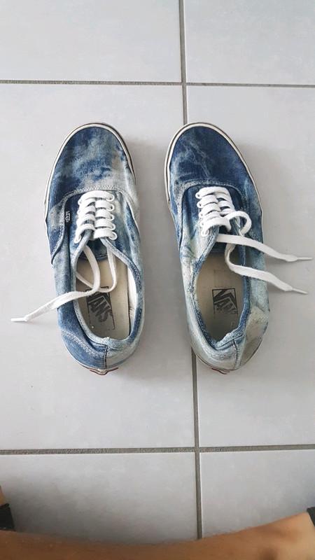 Vans authentic bleu délavé