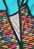 Vestido multicolor Calzedonia 6