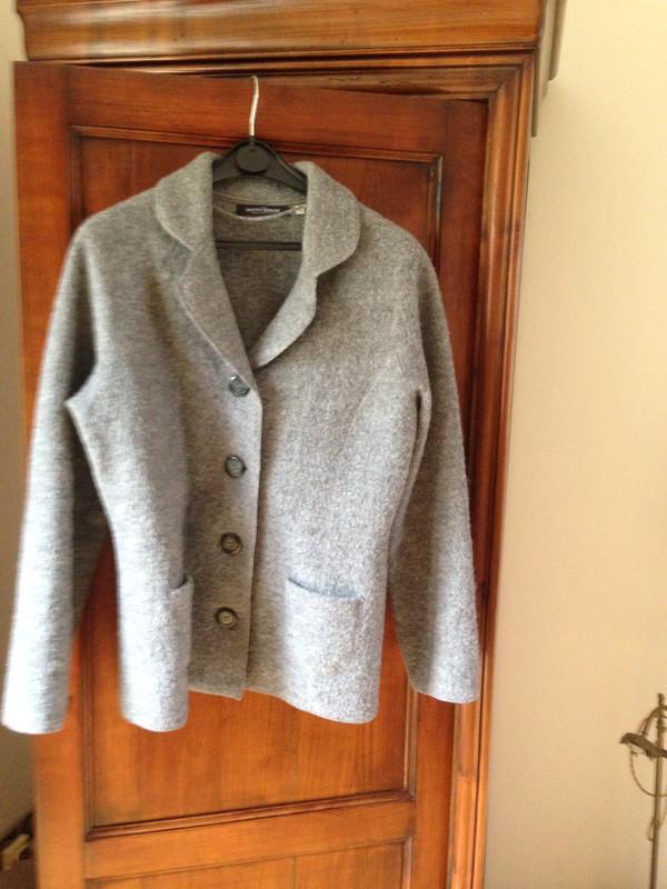 cherche veste femme en laine bouillie