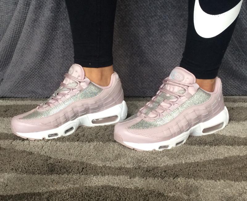 Nike Air Max 95 Glitter Rose