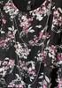 Womens XS IZ Byer Floral Cold-Shoulder Blouse +  6