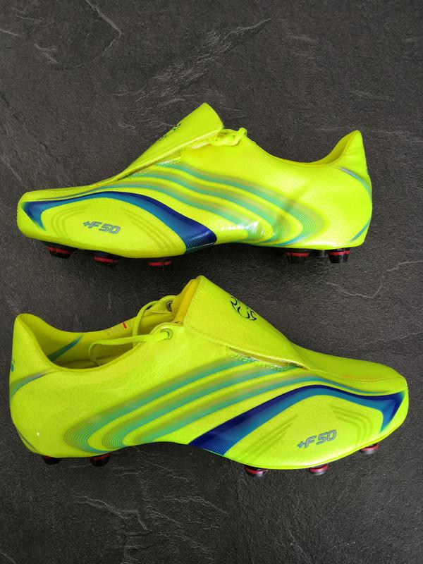 Rare Adidas f50.6 Tunit Fluo Nasri Cissé 44 2/3 neuf