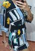 Vintage stara kolorowa 🖤🖤 bluzka Astra 🖤🖤 cudne guziki 🖤🖤 3 koszule w cenie 35 zł 13