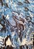 Robe bleue motif serpent School Rag T36/38 9