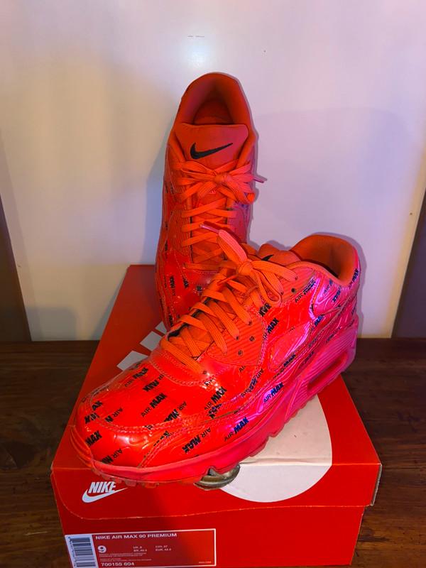 Nike Air max 90 Premium Cramoisi brillant/Noir