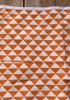 Jupe retro 70's taille haute forme trapèze 9