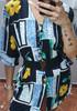 Vintage stara kolorowa 🖤🖤 bluzka Astra 🖤🖤 cudne guziki 🖤🖤 3 koszule w cenie 35 zł 9
