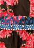 Abito vestito lungo floreale 6