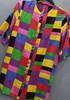 Vintage koszula Cudo 🖤🖤 Mega kolorowa 🖤🖤 Neonowe kolory 19