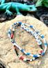 Handmade Seed Bead Bracelets & Anklets 10